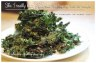 Plate of Kale Chips.